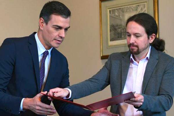 Estado español: Gobierno PSOE-Unidas Podemos. ¡Es el momento de los hechos: fuera los recortes, las contrarreformas y la represión al pueblo catalán!