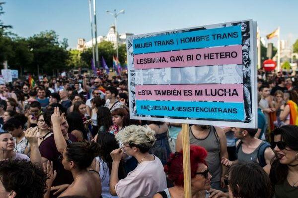 En defensa de los derechos de las personas Trans