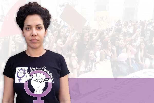 Entrevista a Ana García – portavoz de Libres y Combativas – multada con 700€ tras la manifestación del 8M de 2019