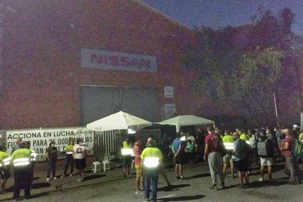 ¡Ocupar las plantas y nacionalizar Nissan! Resolución aprobada por la asamblea de trabajadores del Campamento Acciona Barna-3