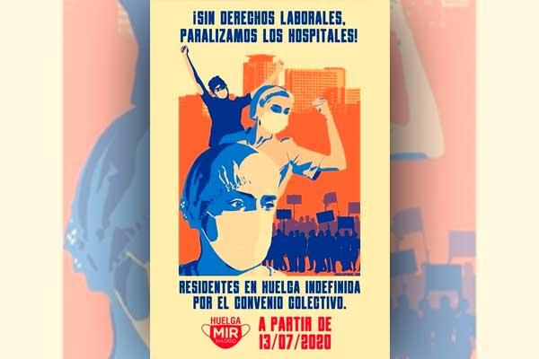 Todo nuestro apoyo a la huelga de los MIR en Madrid contra la precariedad y la explotación