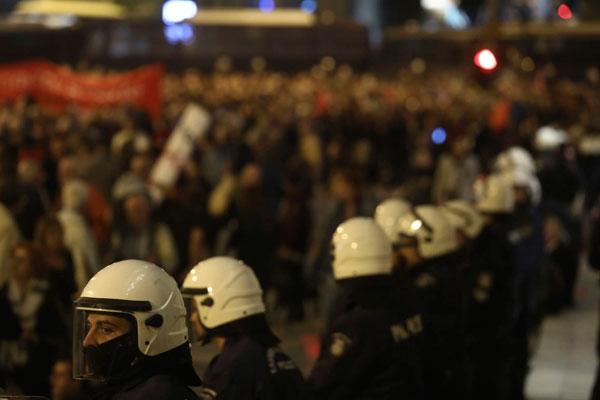 Grecia. El Gobierno de la derecha incrementa los instrumentos de represión frente a la lucha social