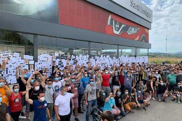 Manifiesto a los trabajadores de Nissan: ¡No estáis solos!