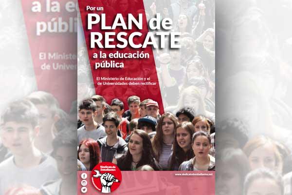 Por un plan de rescate a la enseñanza pública