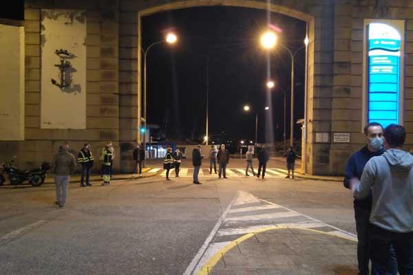 Navantia-Ferrol. Paralizada la factoría ante el incumplimiento del protocolo de seguridad