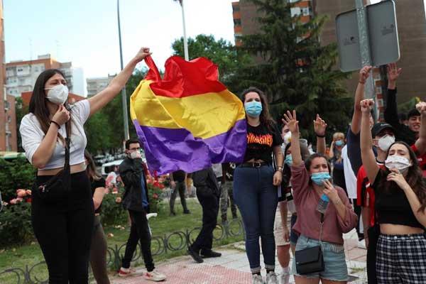 ¡Fuera fascistas de nuestros barrios! La juventud de Madrid responde a la ofensiva de la ultraderecha