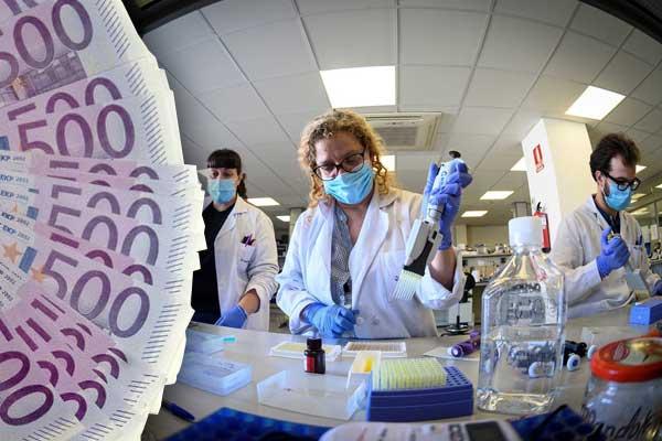 La cura del coronavirus: una carrera para hacer negocio con nuestra salud