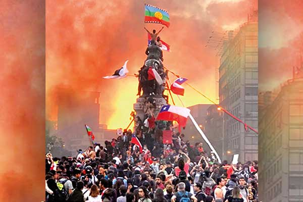 A un año del estallido revolucionario en Chile.¡Abajo el Gobierno asesino de Piñera, por el socialismo y la democracia obrera!