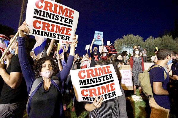 Movilizaciones contra Netanyhau y crisis política en Israel