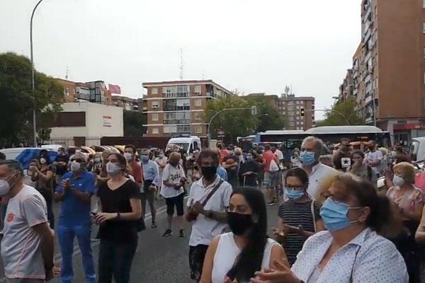 ¡Ayuso dimisión!  Manifiesto vecinal por la dignidad del sur de Madrid
