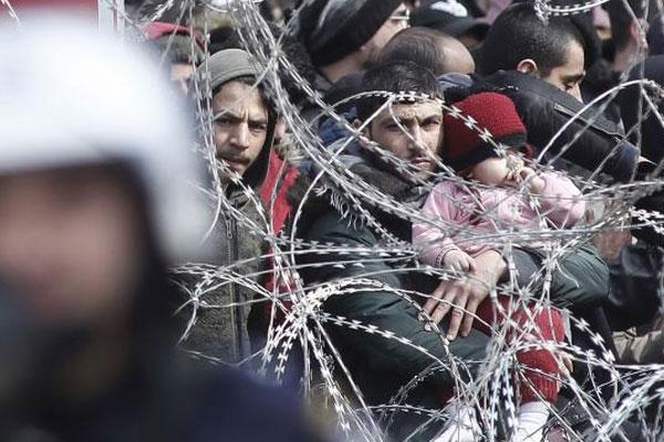 Una nueva crisis de refugiados pone en evidencia a la UE ¡Basta de políticas racistas y xenófobas! ¡Ningún ser humano es ilegal!