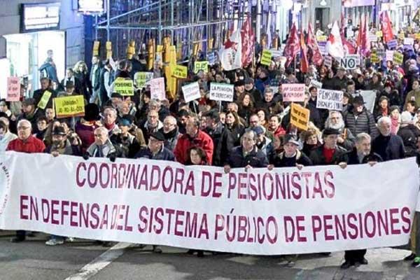 La coordinadora de pensionistas responde a las mentiras del ministro Escrivá y rechaza su contrarreforma de las pensiones