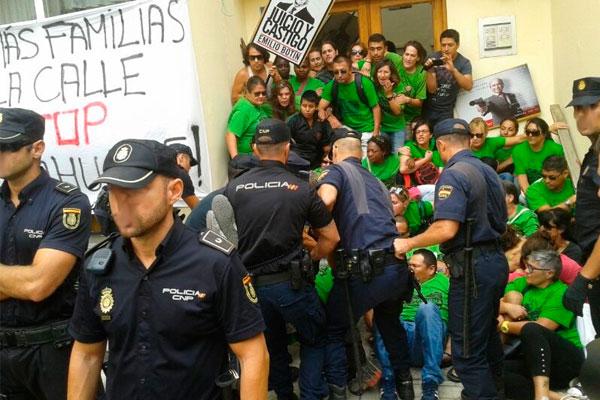 Decreto sobre los desahucios del Gobierno PSOE-UP. Más dinero para los especuladores, ninguna solución real para los trabajadores