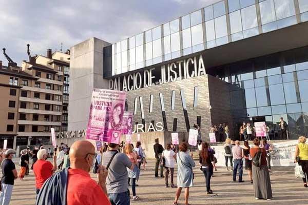 El asesino de Paz Fernández recurre la sentencia ¡Exigimos la confirmación de la sentencia por asesinato!