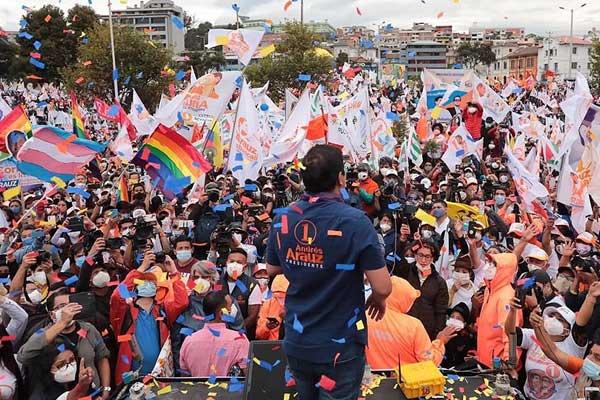 Ecuador: Las masas barren a la derecha en las elecciones