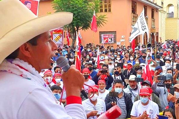 Perú. Las masas dan la victoria a Castillo