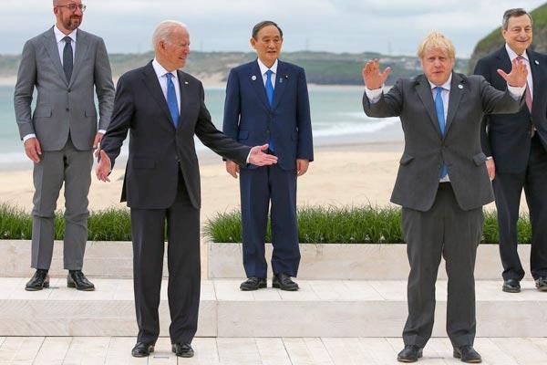 Biden y el G7 venden la 'refundación' del capitalismo, y la izquierda reformista compra sus mentiras