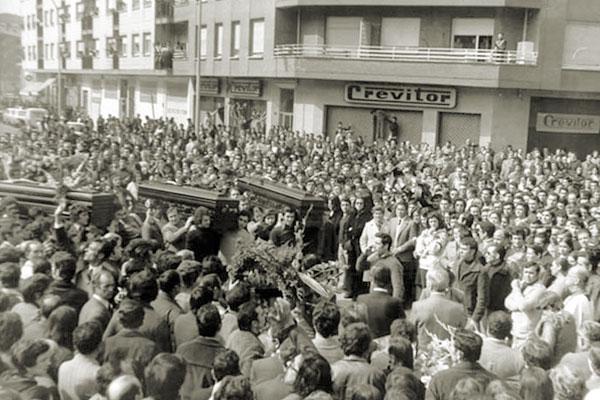 A 45 años de la masacre del 3 de marzo en Vitoria-Gasteiz