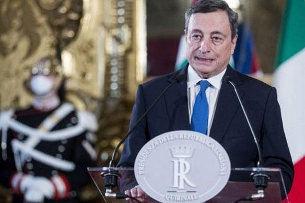 Empresarios y banqueros conforman el Gobierno de Draghi
