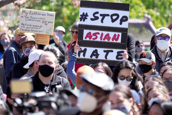 Protestas antirracistas en Estados Unidos tras el tiroteo en Atlanta