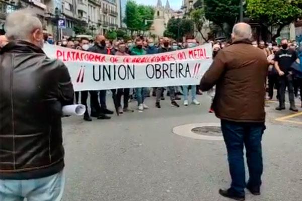Vigo. La Plataforma del metal, desde abajo, desborda a la burocracia sindical y continua la lucha por un convenio digno