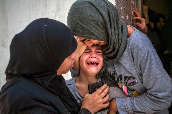 Israel lanza una ofensiva militar salvaje contra el pueblo palestino