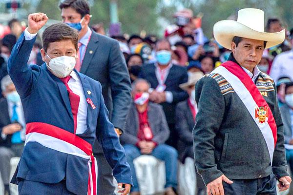Perú. Ruptura en el gobierno de Castillo