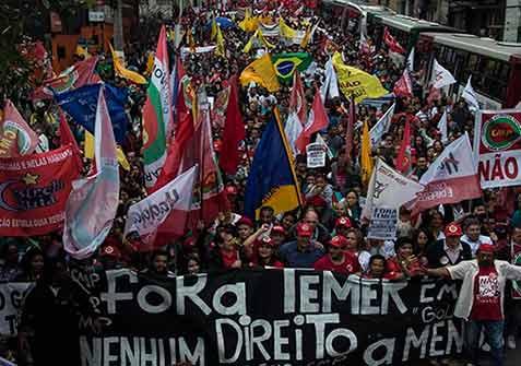 Nueva época de polarización y luchas de masas en Brasil