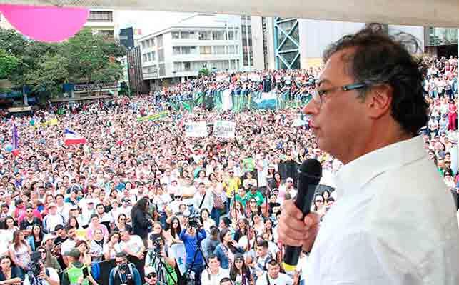 Primera vuelta de las elecciones presidenciales en Colombia