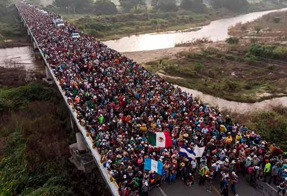 Centroamérica: La caravana migrante contra la miseria y la explotación