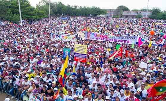 Colombia: A pesar de la victoria del uribismo. Resultados históricos de la izquierda en Colombia