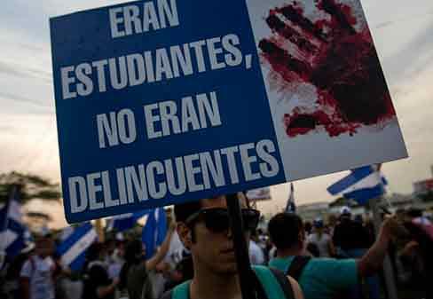 Nicaragua: El régimen bonapartista de Ortega intenta imponerse por la fuerza