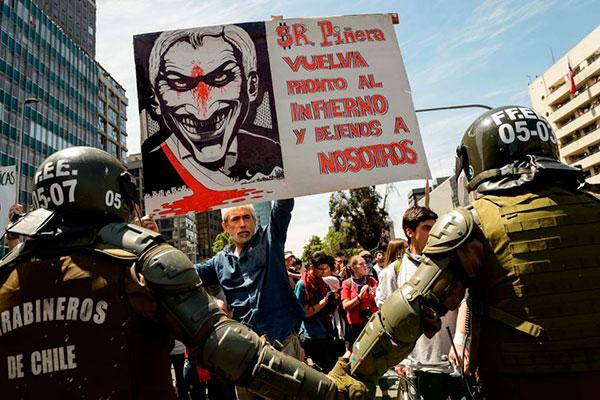 Chile: el levantamiento de la juventud y los trabajadores abre una situación revolucionaria. ¡Abajo el Gobierno asesino de Piñera! ¡Por el socialismo y el poder obrero!