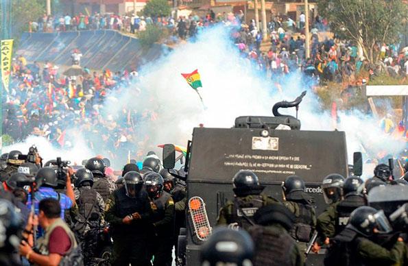 Bolivia · Insurrección obrera y campesina contra el gobierno golpista y asesino