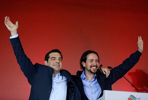 Iglesias y Tsipras