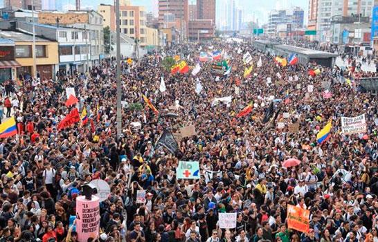 Colombia · Una huelga general histórica pone al gobierno contra las cuerdas. ¡Fuera Duque y su política reaccionaria!