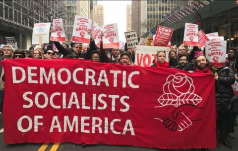 Socialistas Democráticos de América (DSA): ¡Hay que impulsar potentes campañas independientes para construir la izquierda en 2018!