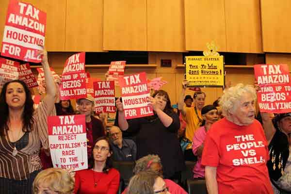 Seattle (EEUU): Tras la derogación del impuesto a Amazon