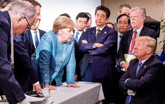 Fracaso del G-7. La guerra comercial tensa la política mundial