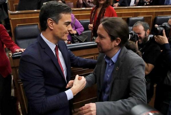 Pedro Sánchez investido presidente. La derecha declara la guerra al Gobierno PSOE-Unidas Podemos