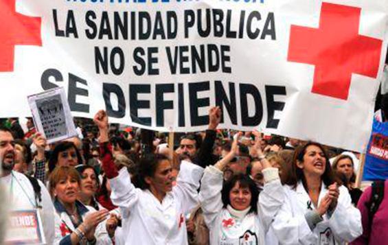 Defensa de la sanidad pública