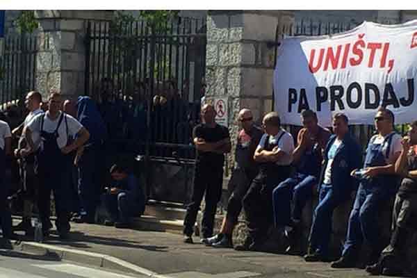 Croacia: Solidaridad con los trabajadores de los astilleros en lucha