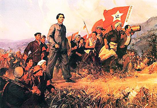 Mao y el ejército guerrillero