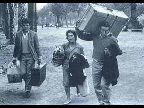 Emigrantes portugueses en los años setenta
