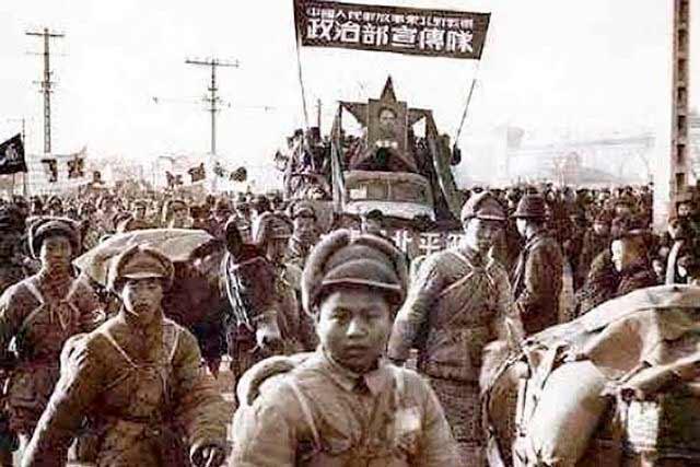 Mao y el ejército campesino