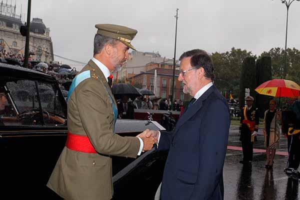 Felipe VI y el Estado declaran la guerra al pueblo de Catalunya apelando al nacionalismo españolista