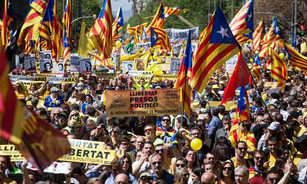 Catalunya: Diada 2018 ¡La lucha continúa!