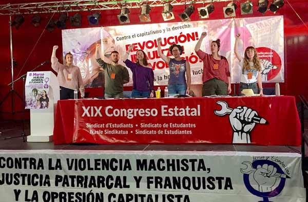 Estado español: XIX Congreso del Sindicato de Estudiantes • Contra el capitalismo y la derecha: ¡Revolución!