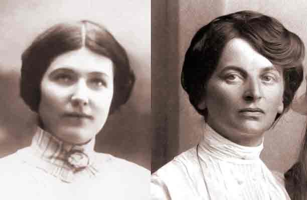 Larisa Reisner e Inessa Armand